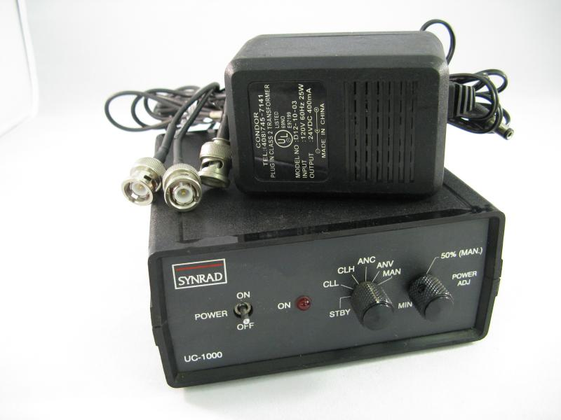 Synrad UC-1000 Universal Controller for Synrad lasers with cables and manual.
