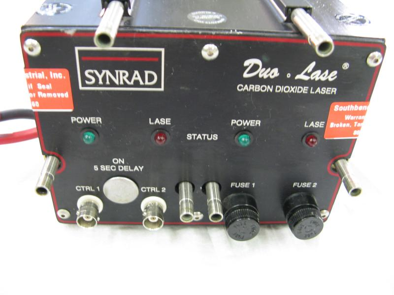 Synrad J Series 48-5 CO2 Laser 50 watts RF metal tube