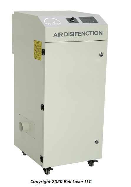 Mahoney Air Disinfection for COVID19
